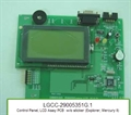 Control Panel, LCD Assy PCB - DISCONTINUED (Explorer, Mercury II)