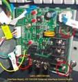 Interface Board, I/O 12V/24V External Interface Control Board Assembly for: S400