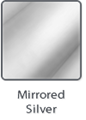"AlumaMark, Mirrored Silver .020"" - 12""x20"" No Adh. (5 sheets per Box, 1 Box)"