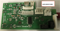 Sensor, PCB Board, X-axis Motor, (4-Amp, MCB-5206), For Braided Cable, with AAS I/O Assembly (X252/X380/Mercury II & III)