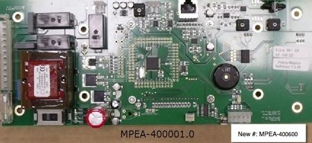 400600, Board, Purex PCB, Volume/Velocity Control (UL94