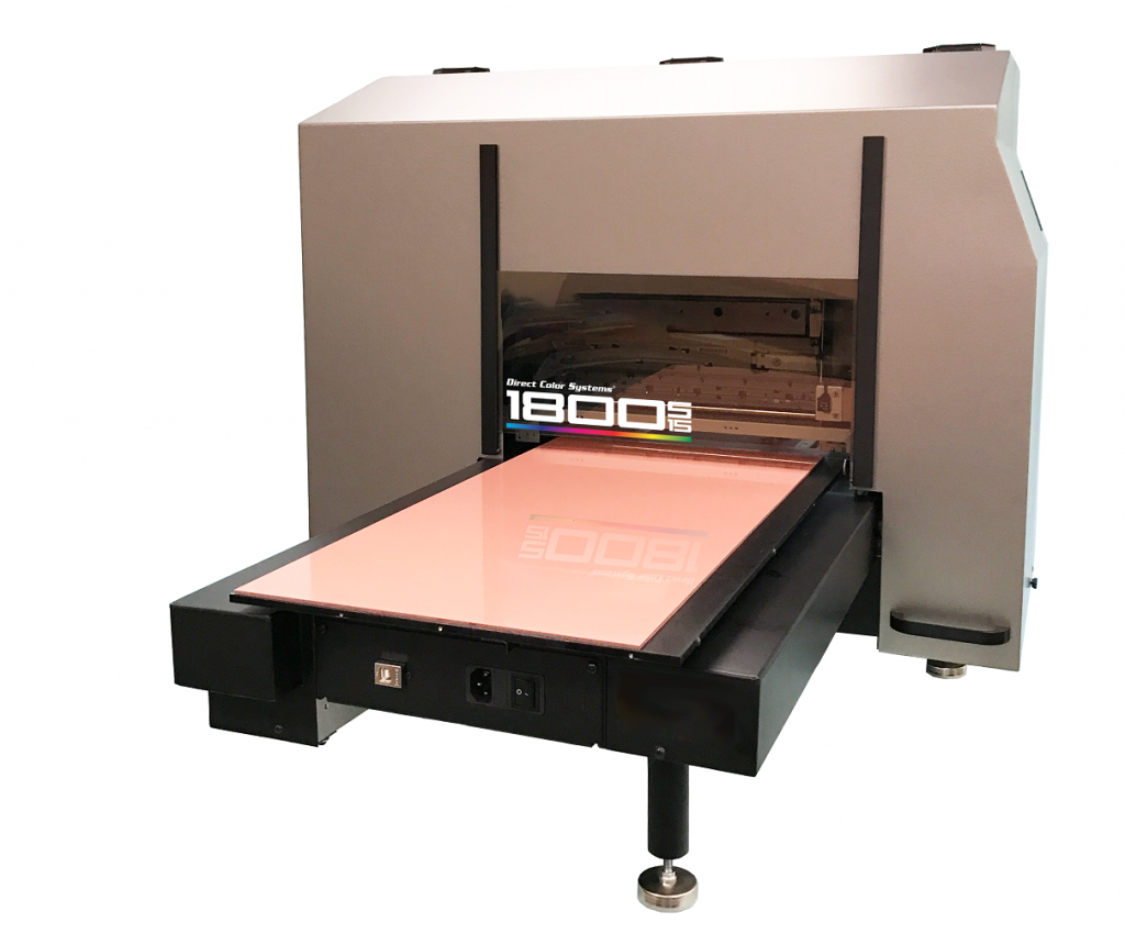 Direct Color Systems UVM Printing and 3D Printing