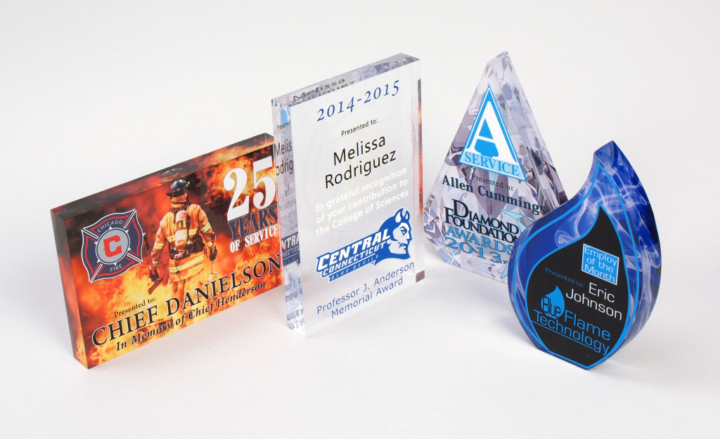 acrylic printing awards plaques. Black Bedroom Furniture Sets. Home Design Ideas