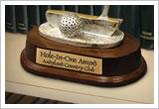 AlumaMark on a Trophy