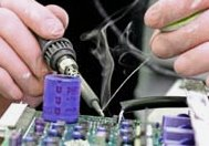 Solder fume extraction